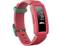 Officeworks Fitbit Ace 2 Kids Activity Tracker Watermelon/Teal