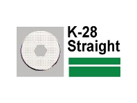 Officeworks Carl K28 Replacement Straight Blade 2 Pack