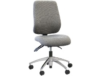 Officeworks Gregory Project W Ergonomic Designer Chair Woven Grey