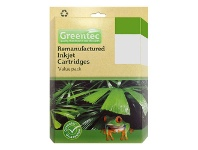 Officeworks Greentec Compatible Brother LC 67 4 Ink Value Pack