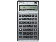 Officeworks HP 17bII Plus Financial Calculator Black and Silver
