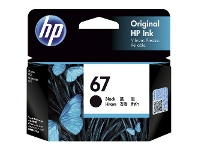 HP 67 Original Ink Cartridge Black 3YM56AA