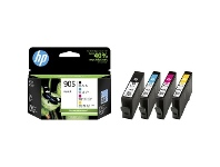 Officeworks HP 905 CMYK Ink Cartridge Combo 4 Pack