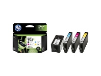 Officeworks HP Ink Cartridge 905XL 4 Pack Assorted