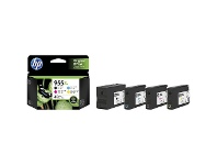 Officeworks HP Ink Cartridge 955XL 4 Pack Assorted