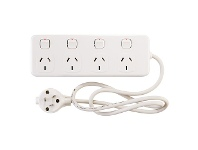 Officeworks HPM 4 Outlet Switched Powerboard