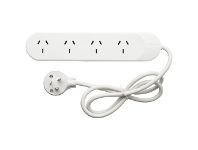 Officeworks HPM 4 Outlet Powerboard
