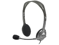 Logitech On-ear Headset Silver H110