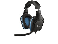 Officeworks Logitech G Series Gaming Headset Black G432