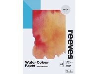 Officeworks Reeves Watercolour Pad Cold Pressed Med 200gsm 12 Sheets A5