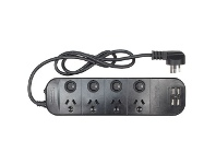 Officeworks Jackson 4 Outlet 4 USB Surge Protected Powerboard