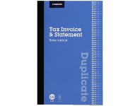 Officeworks J.Burrows Carbon Duplicate Tax Invoice/Statement Book