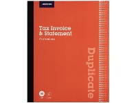 Officeworks J.Burrows Carbonless Duplicate Tax Invoice/Statement Book