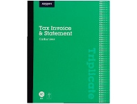 J.Burrows Carbonless Triplicate Tax Invoice/Statement Book