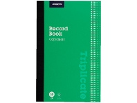 Officeworks J.Burrows Carbonless Triplicate Record Book 50 Pages