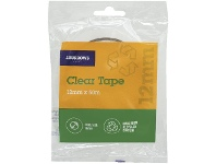 Officeworks J.Burrows Recycled Clear Tape Roll 12mmX50m