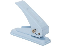Officeworks J.Burrows 1 Hole Punch Blue