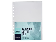 Officeworks J.Burrows Binder Letter File A4 Clear