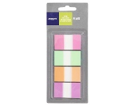 Officeworks J.Burrows Flags 25x44mm Assorted 4 Pack
