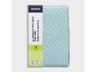 Officeworks J.Burrows A7 Week to View FY21/22 Embossed Diary Blue