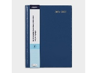 Officeworks J.Burrows A5 Day to Page FY21/22 Executive Diary Navy