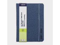 Officeworks J.Burrows A6 Week to View FY21/22 PU Diary Light Blue