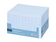 Officeworks J.Burrows Index Cards Ruled 152 x 102mm White 500 Pack