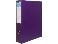Officeworks J.Burrows Box File Purple