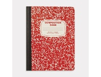Officeworks Nuco Composition Book Red