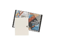 Officeworks J.Burrows A4 Foam Display Book 20 Pockets White
