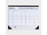 Officeworks J.Burrows FY21/22 Monthly Desk Planner