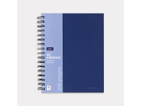 Officeworks J.Burrows A5 Hard Cover Notebook 200 Page Blue