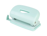 Officeworks J.Burrows 2 Hole Puncher Pastel Green