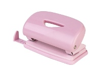 Officeworks J.Burrows 2 Hole Puncher Pastel Pink