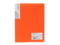 Officeworks J.Burrows Display Book A4 20 Pocket Fixed Orange