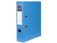 Officeworks J.Burrows PP Lever Arch A4 2 Ring Blue
