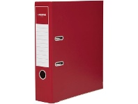 Officeworks J.Burrows Matte Lever Arch Binder Berry