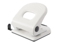Officeworks J.Burrows Metal Large 2 Hole Punch White