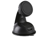 Officeworks J.Burrows Magnetic Windshield and Dashboard Suction Cup Black