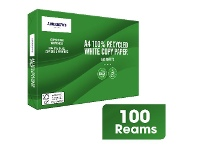 Officeworks J.Burrows Premium 100% Recycled A4 Paper 100 Ream Pallet