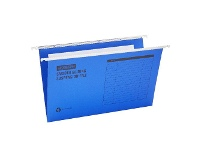 Officeworks J.Burrows Suspension File Foolscap Blue 25 Pack