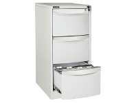 Officeworks Stilford 3 Drawer Filing Cabinet White