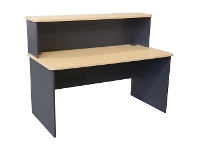 Officeworks J.Burrows Toro Straight Desk with Hob 1500mm