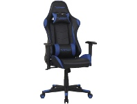 Officeworks J.Burrows Typhoon Gaming Chair Blue