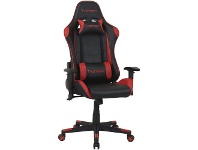 Officeworks J.Burrows Typhoon Gaming Chair Red