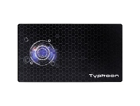 J.Burrows Typhoon Gaming Desk Mat 1400 x 600mm Black