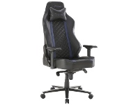 Officeworks J.Burrows Typhoon Prime Ergonomic Gaming Chair Blue