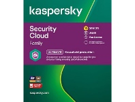 Officeworks Kaspersky Security Cloud Family 10 Device 1 Year Download