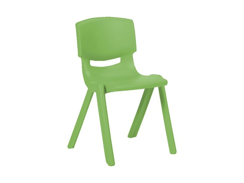 Studymate Young Stacking Chair 360mm Green