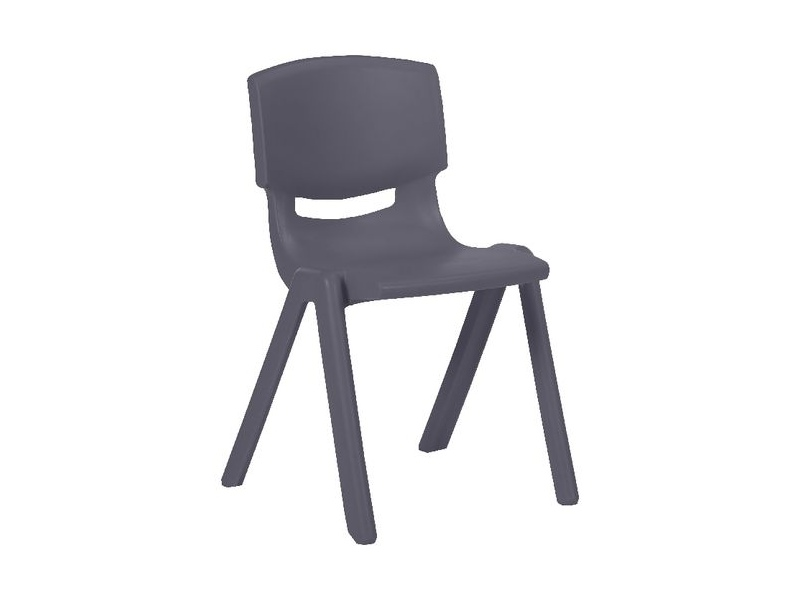 Studymate Young Stacking Chair 360mm Grey